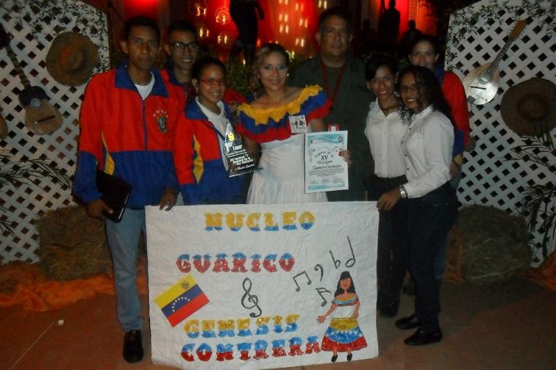 Efectuado en el Núcleo Guárico XV Festival Regional de la Voz Unefista