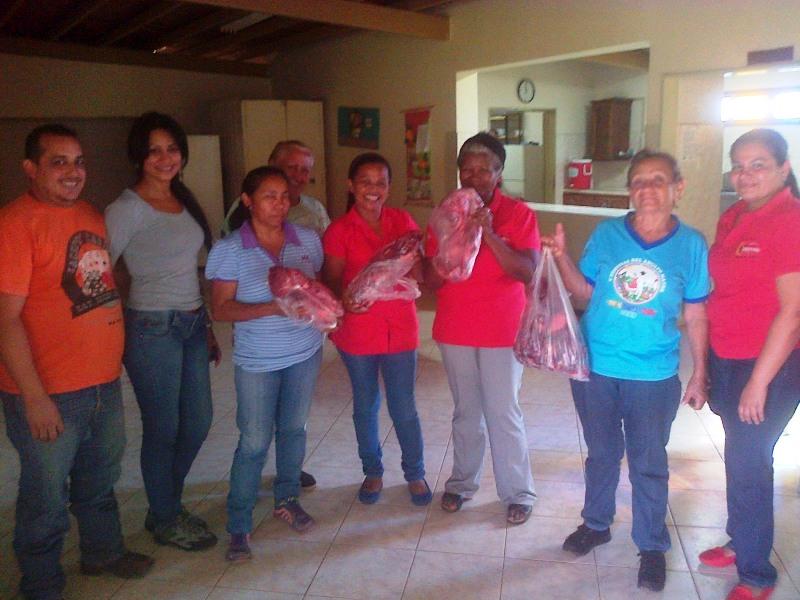 Alcaldia de las Mercedes del Llano realiza aporte a la aldea de encuentro Isabel Dale