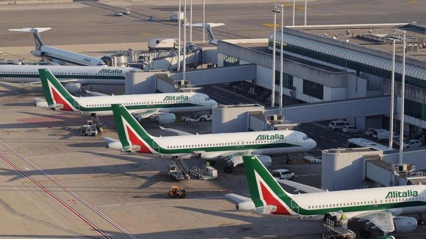 La aerolínea italiana Alitalia cancela 60 % de los vuelos por huelga