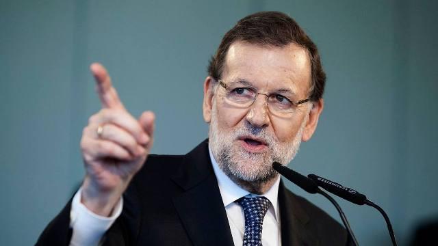 El presidente del gobierno español, Mariano Rajoy, exigió la liberación Leopoldo López
