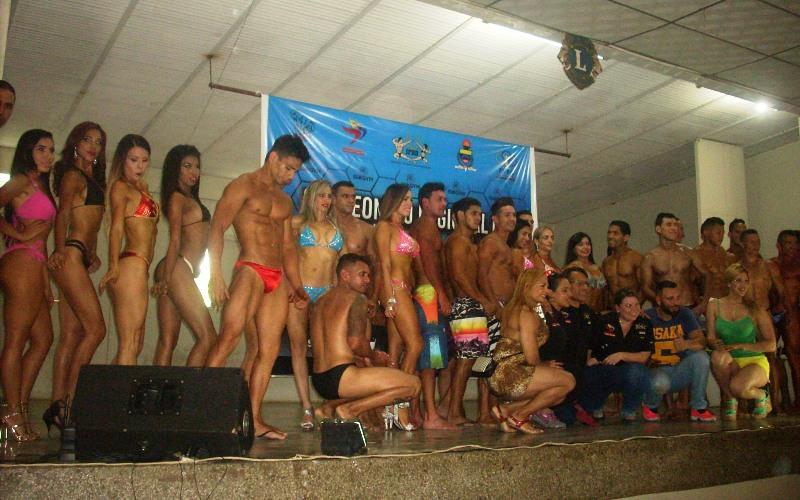 Ítalo D´Prieto y Sorangel Rangel destacaron en el Segundo Campeonato Regional de Fisicoculturismo y Fitness