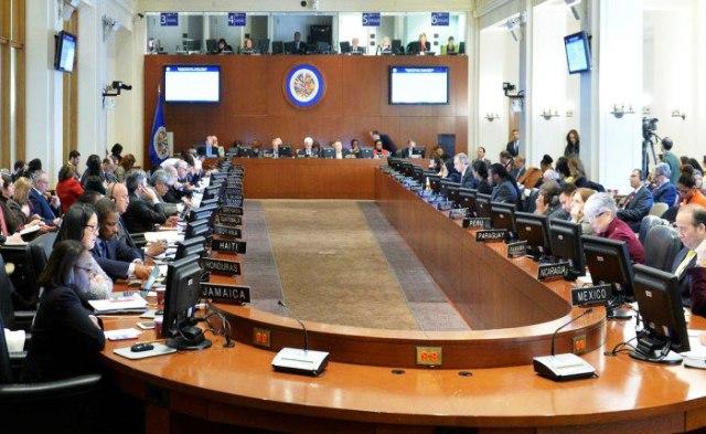 Aprobada reunión de cancilleres en la OEA