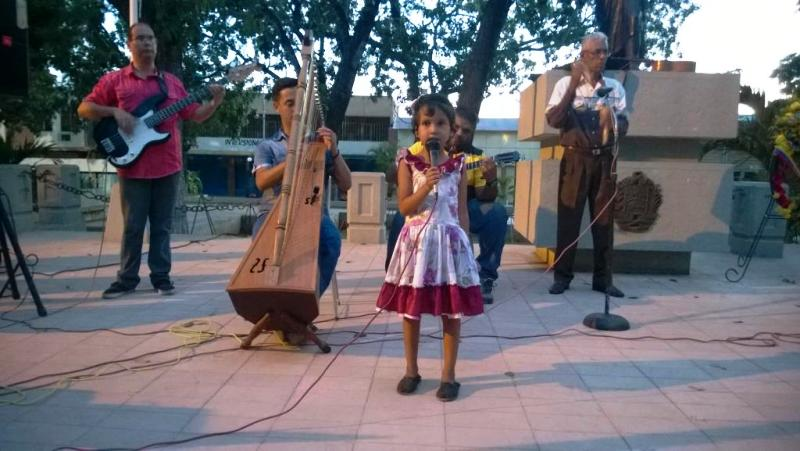 Más de 80 niños y niñas participan en el pre festival Cantaclaro en Valle de la Pascua estado Guárico.