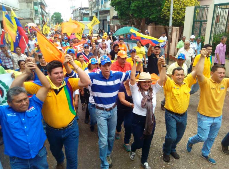 Zaraceños protestaron contra la decisión de realizar una constituyente Comunal en Venezuela