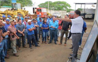 Seguimos honrando a los trabajadores con los pocos recursos que envía el Gobierno