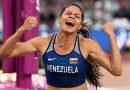 Robeilys Peinado llegó a Venezuela luego de ganar una medalla de bronce en Londres