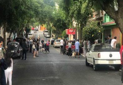 Tiembla otra vez en la Ciudad de México
