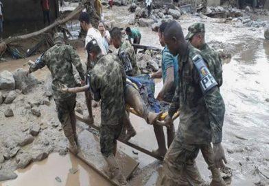 En Colombia un avalancha de lodo dejó 4 muertos y 18 desaparecidos