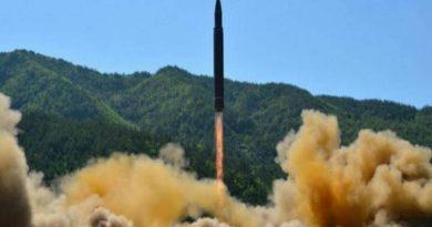 lanzamiento en Corea del Norte