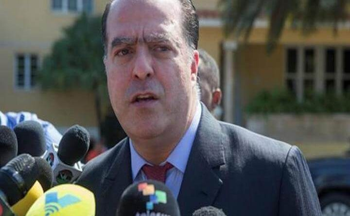Declaraciones sobre los acuerdos que aceptara la oposición