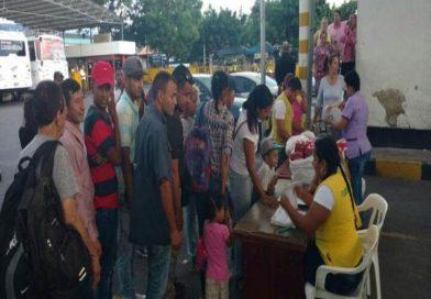 Colombia: Anuncios para venezolanos el 8 de febrero