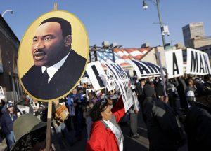 Martin Luther King el heroe americano