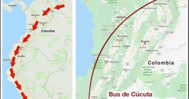 Viaje de Venezuela a Peru