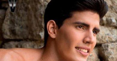 Joven modelo Manuel Lima, victima en extrañanas circunstancias.
