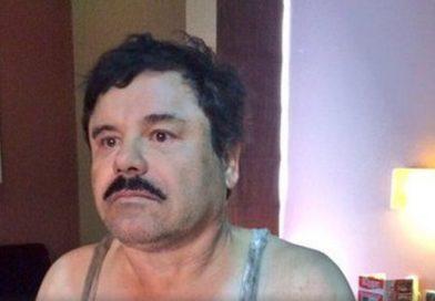 """Ni para abrazar a su mujer tiene permiso """"El Chapo""""  antes del juicio."""