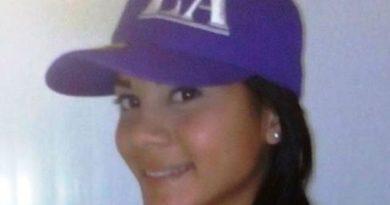 Marialex Angola, joven asesinada.