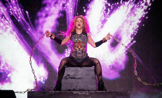 Shakira hizo brillar el 2018