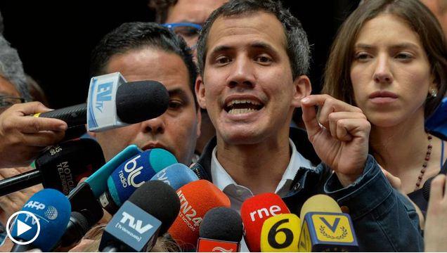 Guaidó llama a la población a salir a las calles.