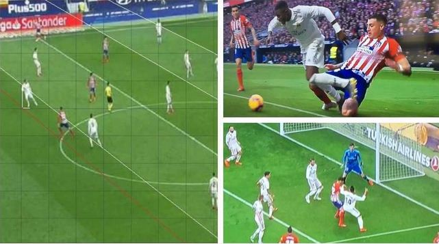 """""""Reproches y reclamos"""" del Atlético de Madrid"""