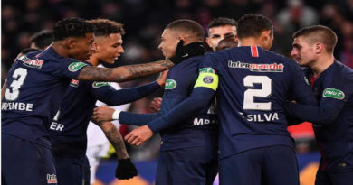 PSG, domina recientemente la liga francesa.
