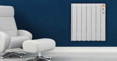Confort a bajo costo, el radiador eléctrico, moderno de gran estilo y economía.