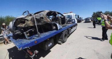 Estado en que quedó el automóvil donde ocurrió el accidente