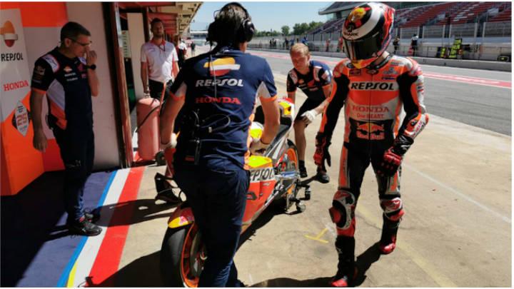 Jorge Lorenzo en la prueba de la moto GP 2020 terminó en el Hospital