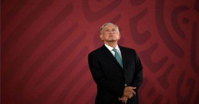 Obrador en su conferencia matutina de prensa