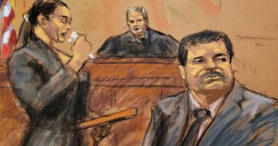 El Chapo habla de lo injusto de su proceso judicial.