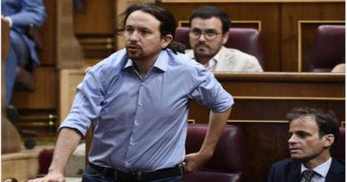 Pablo Iglesias en el debate de las Investiduras, donde solo piden un gobierno de coalisión.