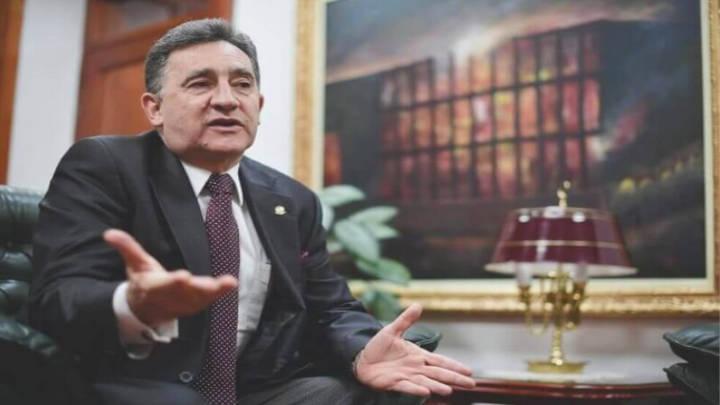 El magistrado, Alvaro García, presidente de la Corte Suprema , se siente defraudado