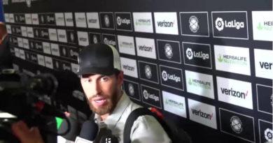 Ramos sabe que el equipo debe recuperarse para el resto de la pretemporada