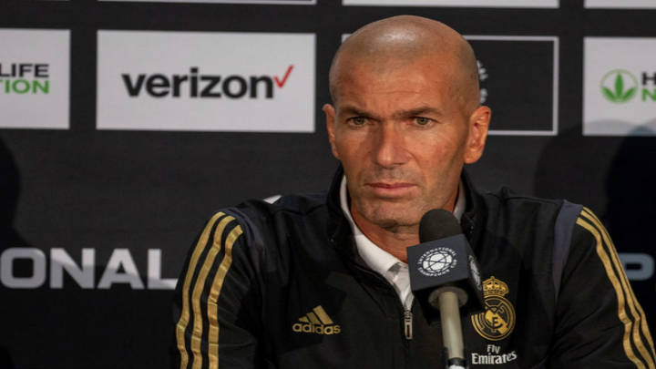 El mutis total de Zidane ante la derrota contra el Atlético