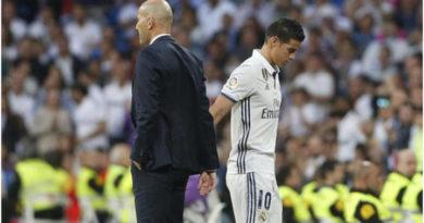 Zidane no cuenta con James para la nueva temporada.