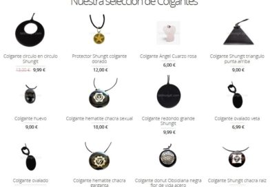 Shungit el mineral de moda
