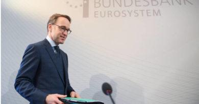 Jeans Weidmann, presidente del banco central europeo