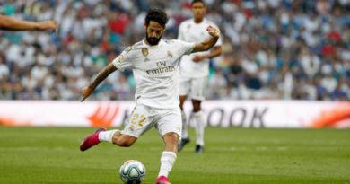Isco ingresa a la lista de lesionados del Real Madrid