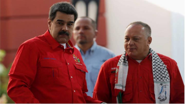 Maduro y Cabello arremeten contra diputados tras sanciones de EE UU