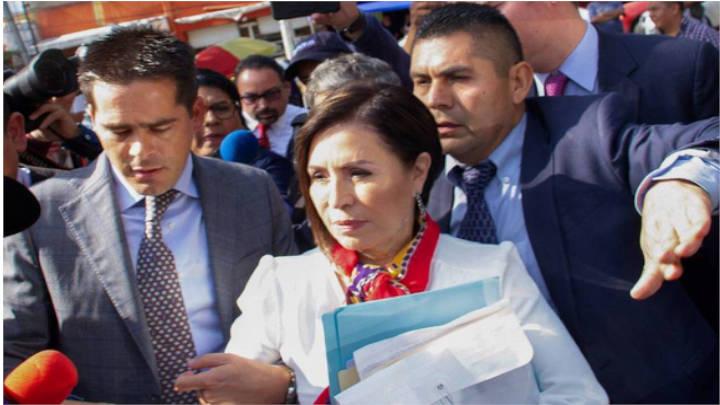 Rosario Robles , arrestada por supuesta corrupción