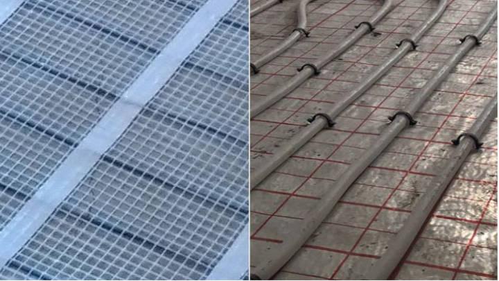 Innovación: suelo radiante, eléctrico o por agua