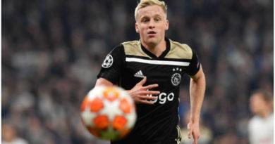 El Ajax no suelta así nada más a Donny Van de Beek
