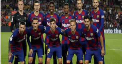 El Barcelona en su momento inicial