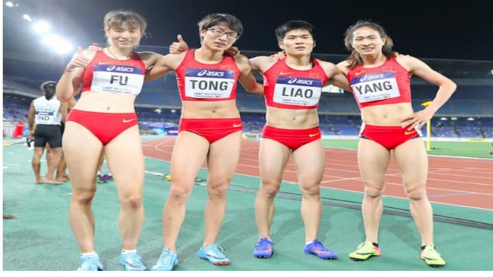 Esta es la imagen que crea la controversia por masculinidad de atletas chinas