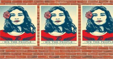 """Maribel Valdéz González, activista de la campaña """"We the people"""", en EEUU"""