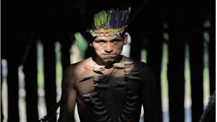 Un ciudadano Huitoto de la región colombiana días antes de la reunión de Leticia