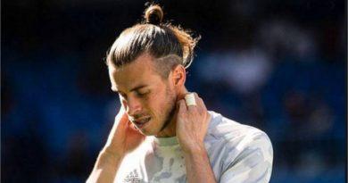 Bale no se anota para jugar por lesión sufrida hace semanas
