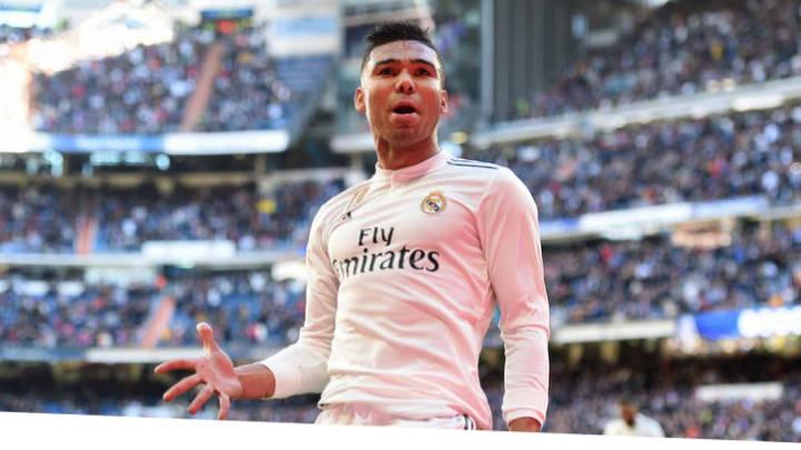 Alivio para el Real Madrid al contar con Casemiro para el Clásico.