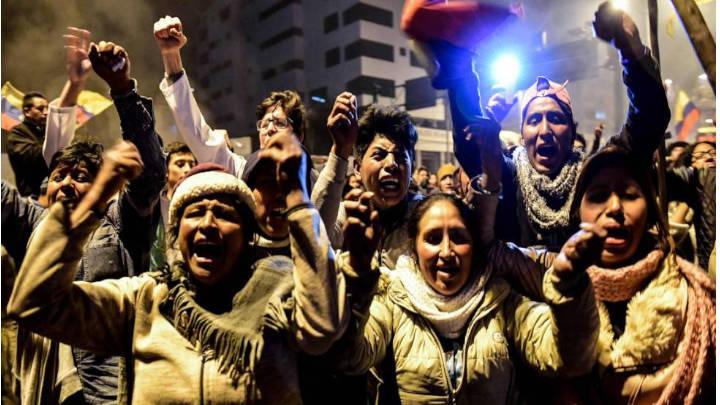 La fuerza indígena demostró tener el poder de hacer rectificar al gobierno