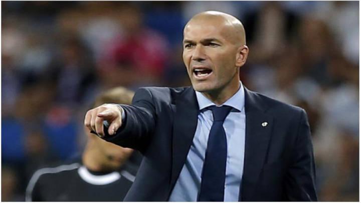 Zidane no va a salir del banquilloasí no más.