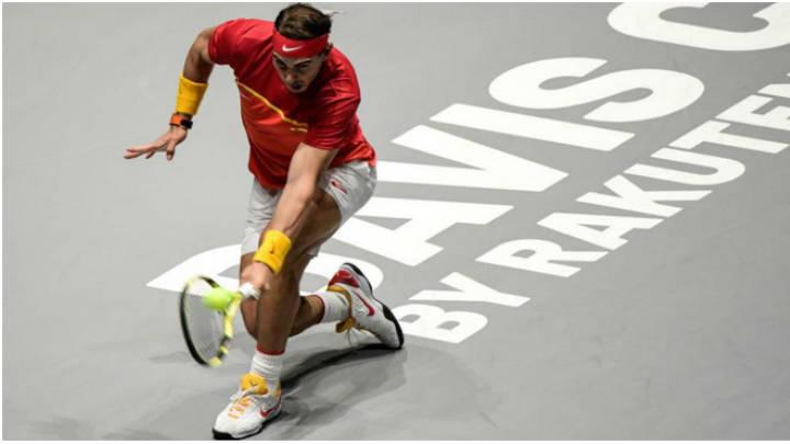 Nadal suma su 25º victoria consecutiva  en individuales, al ganarle a Khachanov